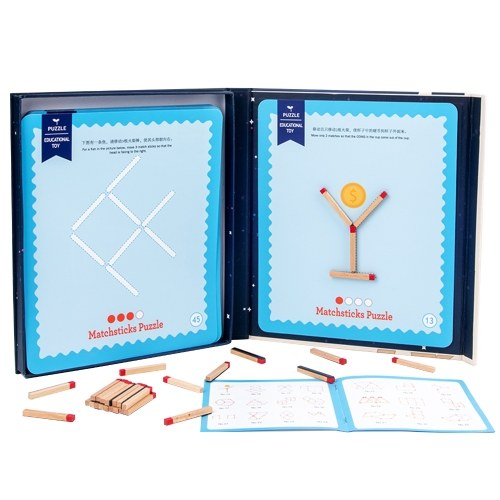 Matchstick Puzzle Concentration Training Toys