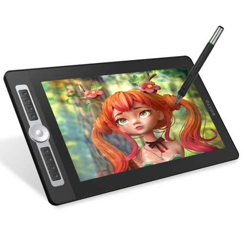 BOSTO 16HD Pro Portable 15.6 Inch H-IPS LCD Graphics Drawing Tablet