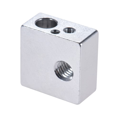 Aluminium Heizblock All-Metall 20 * 20 * 10mm für MK7 MK8 Extruder RepRap Prusa i3 DIY 3D Drucker Hot End