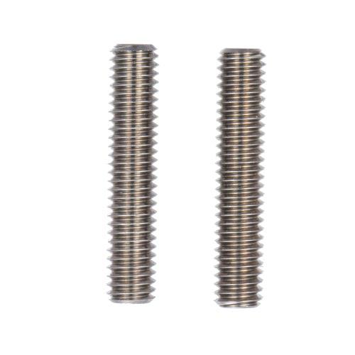 2ST MK8 M6 * 30mm Edelstahl-Düse Extruder Throat Teflon Rohre Rohre für 1,75 mm Filament 3D-Drucker-Teile