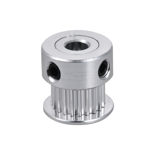 1 szt. 2GT 20 Końcówka zębatego aluminium Przekładnia czasowa Synchronous Wheel Bore 5mm RepRap Prusa i3 Drukarka 3D DIY Kit Akcesoria Części