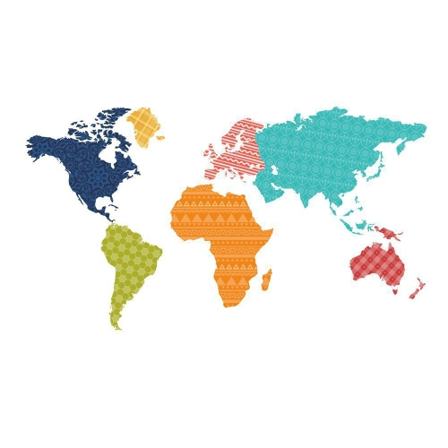 Large colorful world map wall sticker educational map pvc decal large colorful world map wall sticker educational map pvc decal mural art home office decor gumiabroncs Choice Image