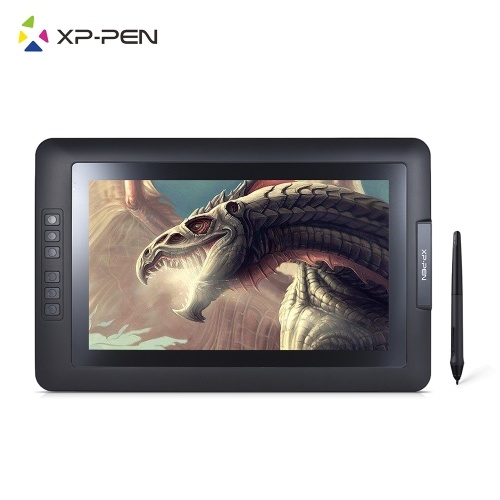 XP-Pen Artist 13.3 1080P HD IPS Graphics Drawing Monitor Monitor de tableira passiva passiva sem bateria 2048 Nível de pressão tipo-C USB para Windows Mac