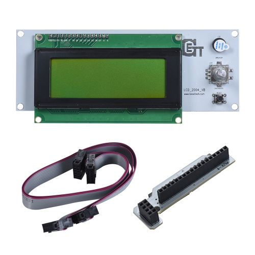Smart Controller LCD Display with Adapter Cables for Reprap Ramps1.4 3D Printer