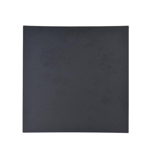 1 pc Adesiva Adesivo de Cama Colcha de Calor Camada de Calor Quadrado Preto 3D Impressora Peças