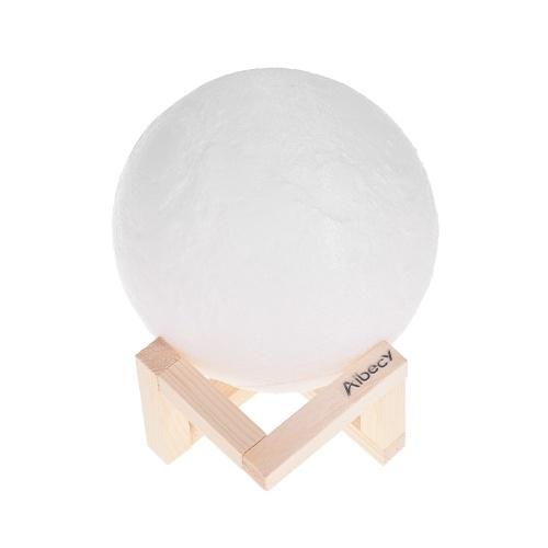 Luce notturna Aibecy Moon Lamp 3D Print LED
