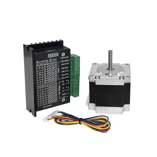 Aibecy 23HS5628 Stepper Motor 6.5mm Shaft Diameter TB6600 Controller per motori passo-passo