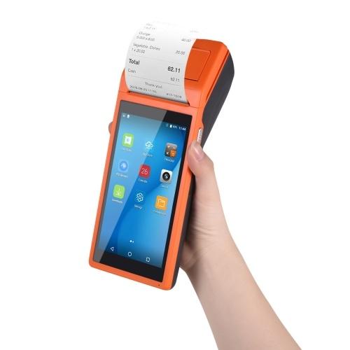 Todo en uno de mano PDA impresora Smart POS Terminal