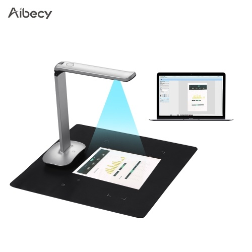 Aibecy F50 HD haute vitesse pliable USB Livre Image Document Camera Scanner
