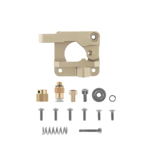 Aibecy MK8 Extruder Upgraded Replacement Metal Block Remote Drive Feed Extruder Kit for 1.75mm Filament for Creality Ender 3 CR-10 CR-10S CR-10 S4 CR-10 S5 3D Printer Parts, Left Hand