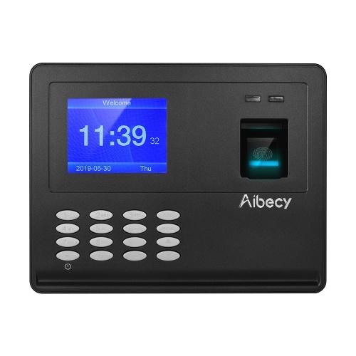 Aibecy Biometric Fingerprint Password Attendace Machine