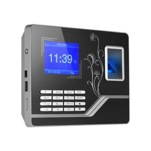 Macchina di presenza di tempo di password biometrico dell'impronta digitale