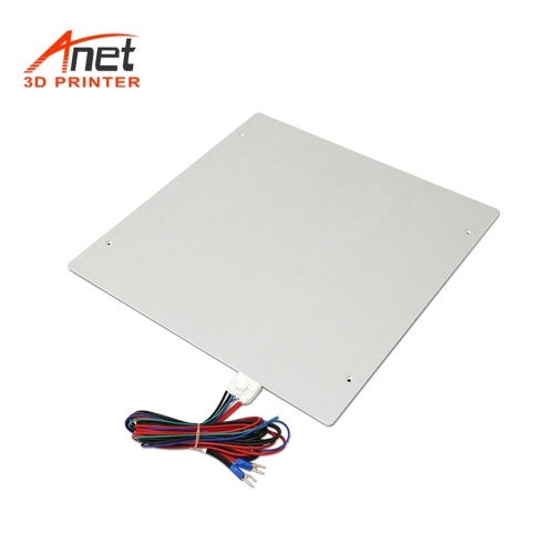 Aibecy Anet Aluminum Alloy Y Carriage Plate Upgrade Fixed Plate Board 3D Printer Accessoy for Fixing Heating Platform Heatbed for Anet A8 Plus Hotbed Support Heated Bed