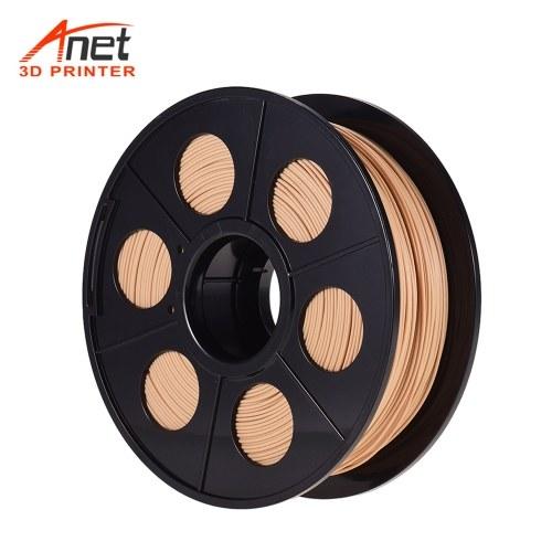 Anet 1,75 mm 3D-Drucker Filament Holz PLA Filament 3D-Drucker Verbrauchsmaterial Spool Filament Druckmaterial Verbrauchsmaterial