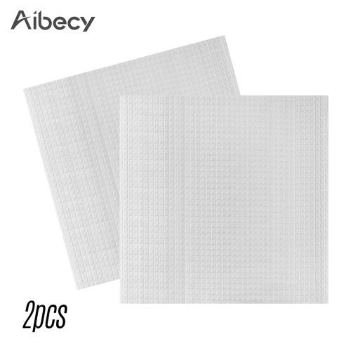 Aibecy 2pcs 220*220mm Heated Bed Foam Foil Insulation Cotton
