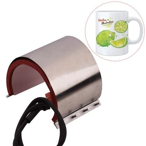 Aibecy Mug Cup Press Heating Transfer Attachment Silica Gel