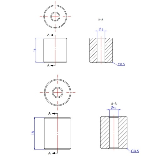 Прочная силиконовая прокладка Aibecy с проволокой Y-образной направляющей Горячая кровать Выравнивающая колонка с диоксидом кремния Высокая термостойкость Совместимо с 3D-принтером Ender-3 / Ender-5 / CR-X / CR-10 / CR-10S фото