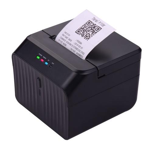 Stampante di codici a barre cablata per stampante termica per ricevute Aibecy da 58 mm