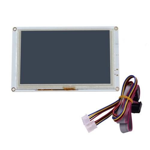 Contrôleur d'écran tactile d'affichage à cristaux liquides couleur Paneldue intégré de 5 pouces PanelDue 5i compatible