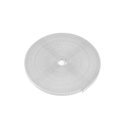 Части принтера Aibecy 3D 10 метров белого ремня ГТ2 открывают синхронный ремень PU шириной 6 мм