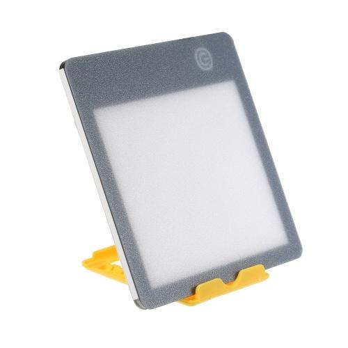 Luce di energia portatile UV-Free 10000 Lux LED Lampada luminosa Pad Tracing Board Luminosità regolabile a 3 livelli con supporto Lampada da tavolo a luce solare naturale