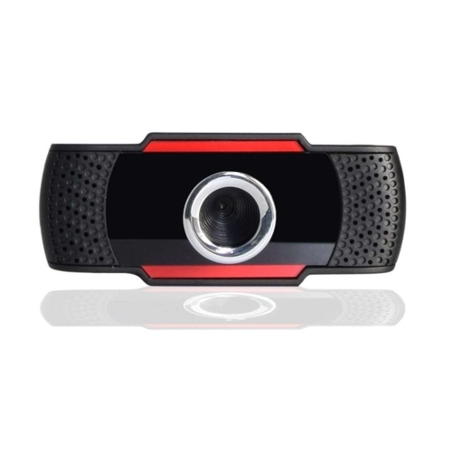 Video Conference Camera 480P HD Webcam Computer Camera with Noise Reduction Microphone USB Plug & Play for Video Meeting Online Training Teaching
