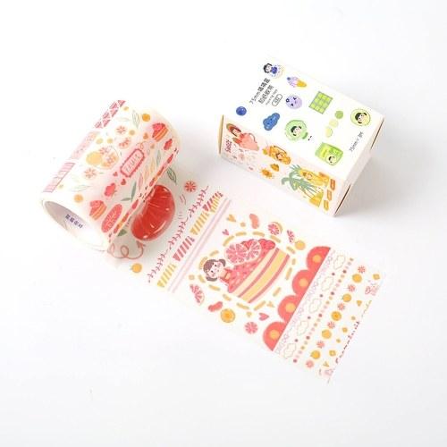 Lovely Fruit Washi Nastro di carta giapponese perlato Rotoli di nastro per scrapbooking