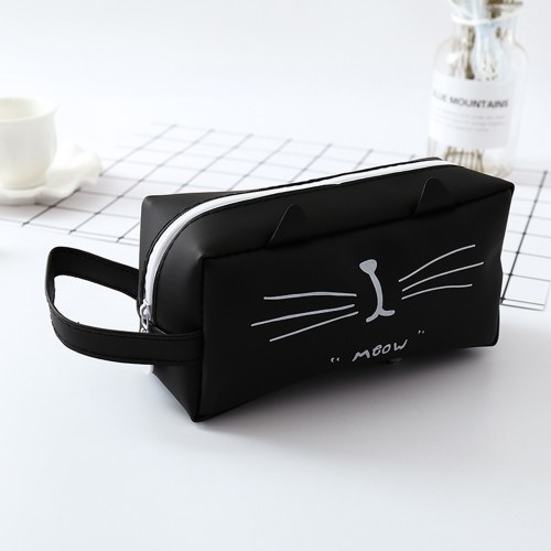 Portable Cartoon Pencil Case Storage Bag