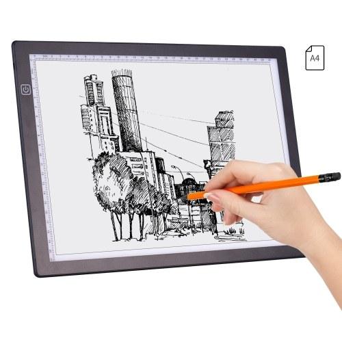 A4 LED-Lichtpad Artcraft Tracing Light Box Tracer-Kopierplatine USB-Helligkeit