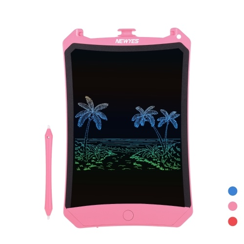 NEWYES Portable 8.5 Inch LCD Writing Board Magnetic Tablet Paperless Digital Electronic Drawing Board Graphics Handwriting Pad Single Color Screen with Stylus Erase Button Lock Function Gift for Children and Adults for Home Office School Travel