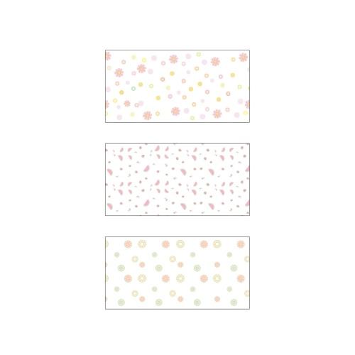 Niimbot Cartone animato colorato Stampa termica Rotolo di carta Prezzo Dimensione Nome Etichetta Carta Impermeabile antistrappo 40 * 20mm 320 Fogli / Rotolo per B11 / B21 / B3S Stampante termica per organizzazione domestica Magazzino supermercato