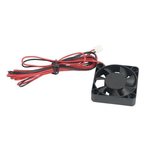 Aibecy 1-teiliger bürstenloser Lüfter 40 * 40 * 10 mm DC 24 V mit Gleitlager Kompatibel mit Ender-3 / Ender-3 Pro 3D-Druckerextruder