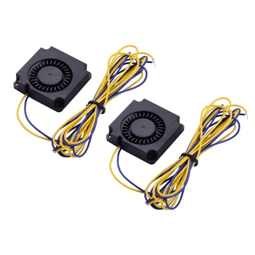 Aibecy 2pcs Blower Fan Brushless Cooling Fan 40*40*10mm DC 12V Compatible with CR-10/CR-10S/CR-10 S4/CR-10 S5 3D Printer Extruder Hotend