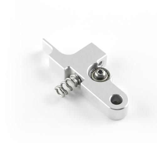 Silber Extruder Leerlaufarm Ganzmetall 3D-Druckerteile Kompatibel mit Titan Aero Extruder 1,75 mm Prusa i3 MK2 Artillerie Sidewinder X1