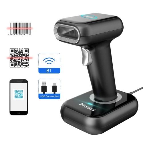 Высокоскоростной сканер штрих-кода Aibecy Сканер 1D / 2D / QR-кода