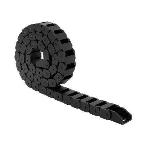 Aibecy 1 m / 3,3 piedi Trasmissione Catena portacavi Towline 10 * 10mm Raggio di sterzata interno 18mm per macchina CNC stampante 3D