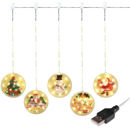 Christmas Curtain Decoration LED String Lights