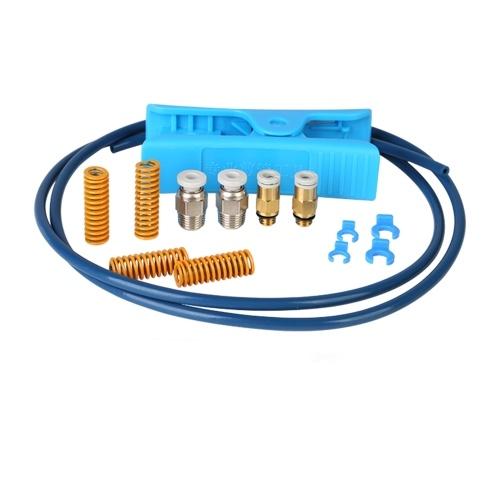 Creality Capricorn Premium XS Bowden PTFE Tube 1 метр и комплект пневматических фитингов для аксессуаров для 3D-принтеров