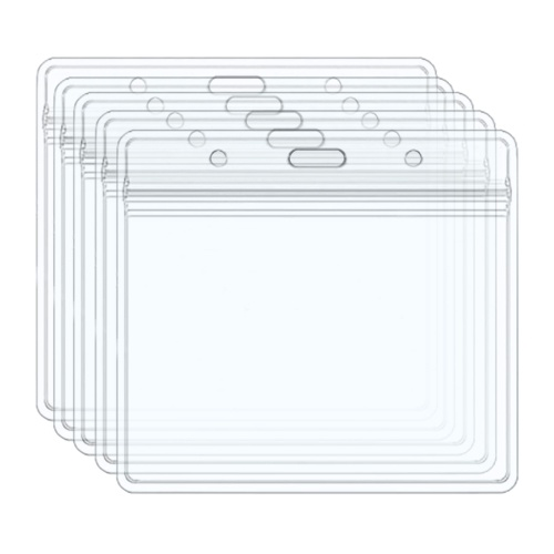 CDC Vaccination Card Protector 4x3 Inches Transparent Card Holder Protective Cover Waterproof for School Business Exhibition Medical (5 Pack)