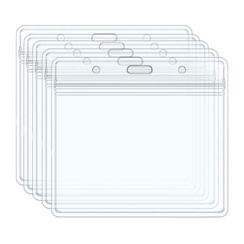 CDC Защитная пленка для карт вакцины 4x3 дюйма Прозрачный держатель для карт Защитная крышка Водонепроницаемая для школы Бизнес-выставка Медицинская (5 шт.)