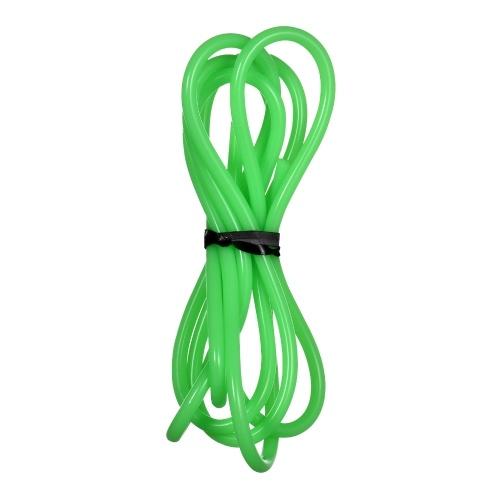 Grüner Silikonschlauch Lebensmittelqualität Silikongummischlauch Flexibler Schlauchschlauch Wasserleitung für Pumpentransfer Verbindungsrohre für Lebensmittelmaschinen, 1 mm ID x 3 mm AD 1 Meter