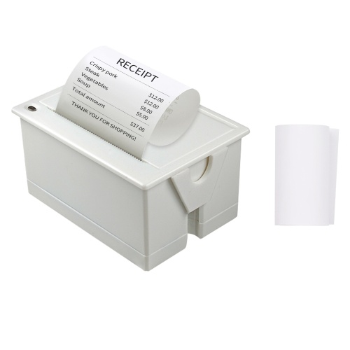 Aibecy Mini 58mm Embedded Thermal Printer Module POS Receipt Ticket Barcode Printer Support ESC/POS Print Command with USB/RS232/TTL Interface