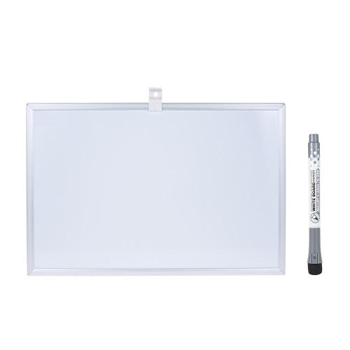 Pisanie Dry Erase Magnetic Drawing Board Tablica z Pen Holder Ultra Light Weight aluminiową ramą dla Officeworks studenckie dzieci 20 * 30cm / 8 * 12in