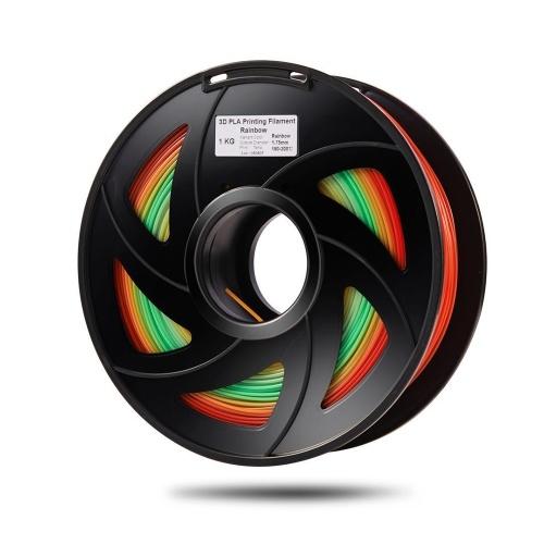 PLA 3D Printer Filament Color Changing (1 Roll, Color Random Delivery)