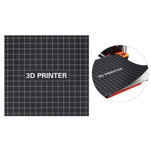 400 * 400mm Stampa 3D Costruisci la superficie del materassino con superficie riscaldata Piastra di stampa con nastro adesivo per gli accessori della stampante 3D CR-10S