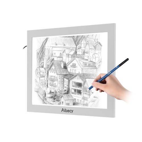 Aibecy A5 Ultra Bright LED Light Box Tracing Pad - tomtop