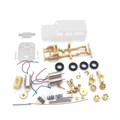 DS87A010P Das 87 Jeep Car Model DIY Kit