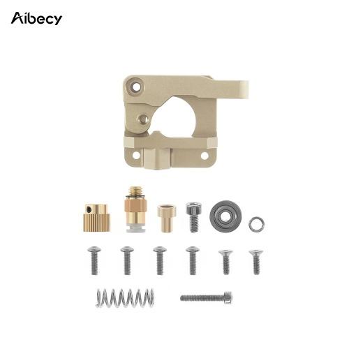 Aibecy MK8 Extruder Kit sostituzione estrusore alimentatore remoto a blocchi di metallo aggiornato per filamento da 1,75 mm per Creality Ender 3 CR-10 CR-10S CR-10 S4 Parti stampante CR-10 S5 3D, a destra