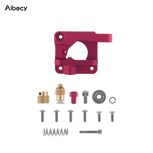 Aibecy MK8 Extruder Upgraded Replacement Metal Block Remote Drive Feed Extruder Kit for 1.75mm Filament for Creality Ender 3 CR-10 CR-10S CR-10 S4 CR-10 S5 3D Printer Parts, Right Hand