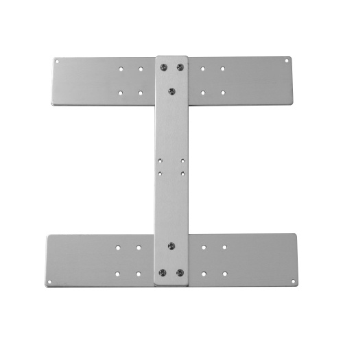 Anet Aluminum Alloy Y Carriage Plate Upgrade Fixed Plate Board 3D Printer Accessoy for Fixing Heating Platform Heatbed Hotbed Support Heated Bed for Anet A8